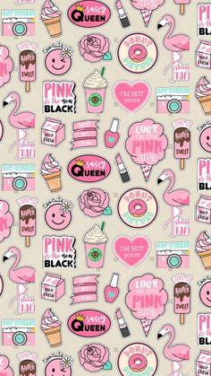 Get Latest Anime Wallpaper IPhone Pattern Print pink Unicornios Wallpaper, Kawaii Wallpaper, Cute Wallpaper Backgrounds, Wallpaper Iphone Cute, Tumblr Wallpaper, Aesthetic Iphone Wallpaper, Galaxy Wallpaper, Aesthetic Wallpapers, Drawing Wallpaper