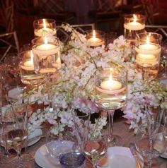 To see more gorgeous wedding decor ideas for your ceremony & reception: http://www.modwedding.com/2014/11/07/37-gorgeous-flower-filled-wedding-ideas-diana-gould-ltd/ #wedding #weddings #wedding_centerpiece Event Design: Diana Gould Ltd.