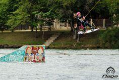 Foto Kicker no Naga Cable Park | Wakeboardk  http://nagacp.com.br/nagacp-fotos/  #Wakeboard #nagacp