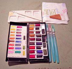 Watercolor stick box (Daniel Smith watercolor sticks)  Flickr - Photo Sharing! - Sara Light-Waller