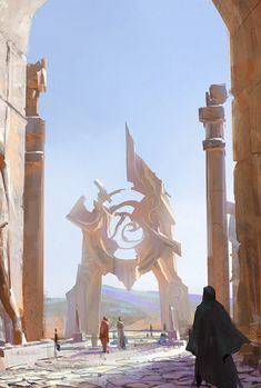 Fantasy Art Engine : Photo Possible Fantasy town teleported square. High Fantasy, Dark Fantasy Art, Fantasy Concept Art, Fantasy City, Fantasy Kunst, Fantasy Places, Sci Fi Fantasy, Fantasy Artwork, Fantasy World