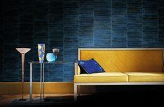 ELITIS papiers-peints, tissus, mobilier / ELITIS wallpapers, fabrics, furniture. Exclusief behang van Elitis; verkrijgbaar bij Verfhandel Ree.