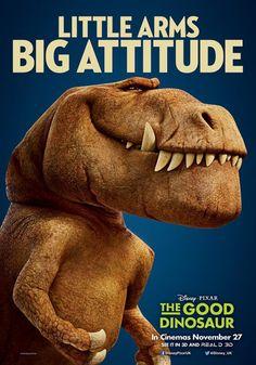 Little arms, big attitude. #TheGoodDinosaur