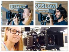 The first ARRI Amiras in the country have landed at Keslow Camera! DP Lisa Wiegand and Camera Operator Reza Tabrizi try one on for size. #ARRI #ARRIamira