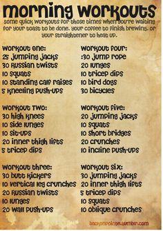 Time Efficient Workouts