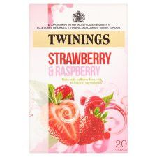 Twinings Strawberry&Raspberry 40g