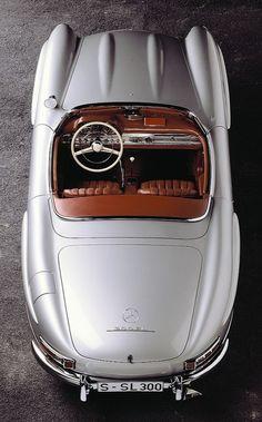 Mercedes-Benz 300 SL Roadster. (via Mercedes-Benz 300 SL Roadster (W198) (Gallery Photo #8))