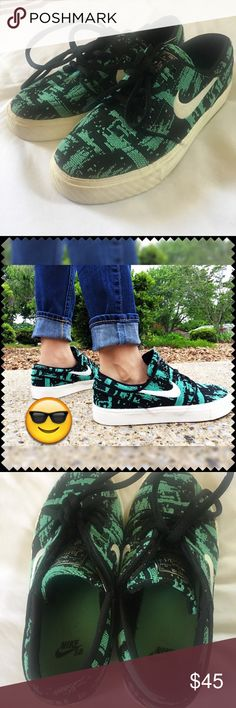 63b625eb53b4 Nike Janoski🔰 Excellent condition Worn once Size 4 fits a 5 Color Black    Mint
