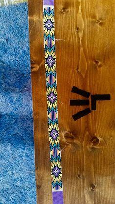 off loom beading techniques Bead Crochet Patterns, Seed Bead Patterns, Peyote Patterns, Beading Patterns, Indian Beadwork, Native Beadwork, Native American Beadwork, Loom Bracelet Patterns, Bead Loom Bracelets