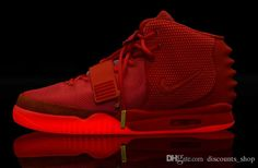 36c0ec2748d Nike Mens And Women Air Yeezy 2 Red October Basketball Shoes West Trendy  Unisex S Sports Shoes Glow In Dark Shoes Size  Us5.5 Us13 From  Discounts shop