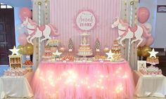 Celebrate with Cake!: Carousel Themed Dessert Table