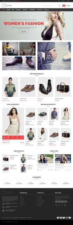 Zonker is Premium full Responsive Magento eCommerce Theme. Retina Ready. Bootstrap 3 Framework. Google Map. Ajax add to cart. Test free demo at: http://www.responsivemiracle.com/cms/zonker-premium-responsive-magento-theme/