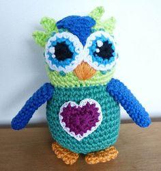 Cute crochet owl Sydney would LOVE
