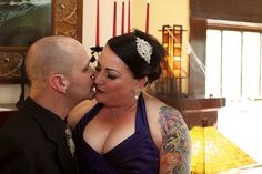 Patty and Will Shelton - Offbeat Bride Featured Wedding