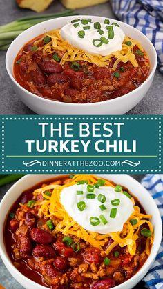 Chilli Recipes, Crockpot Recipes, Chicken Recipes, Cooking Recipes, Healthy Dinner Recipes, Vegetarian Recipes, Healthy Desserts, Dessert Recipes, Ground Turkey Recipes