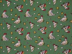 Green hens