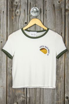 Let's Taco Bout It Ringer Tee