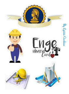 Construction Images, Love Png, Party Printables, Paper Flowers, Cake Toppers, Pop Art, Scrapbook, Stickers, Birthday