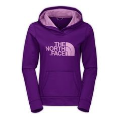 Purple Northface Hoodie. I've never seen this one, this might be my new favorite.