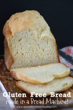 Gluten Free Bread made in a Bread Machine!