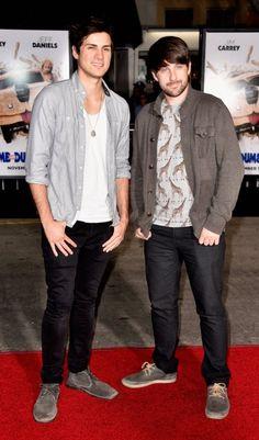 Anthony Padilla & Ian Hecox – Grau an die Front! Der lockere Mix ist perfekt für junge, stylishe Typen