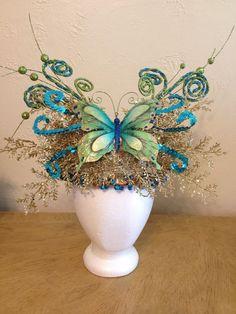 "Mystical Empress ""Fairy Whimsy"" Headdress #Handmade #Headdress"