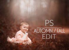 Fall/Automn Warm Edit Autumn | Photoshop Tutorial
