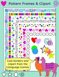 19 Best Borders Frames And Clipart For Teaching Resources Images In