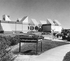 The Vienna Kindergarten (Expo Expo 67 Montreal, Montreal Ville, Lounge, World's Fair, Pavilion, Vienna, Kindergarten, Anniversary, Building