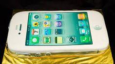Resultado de imagen para iphone cake