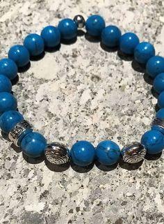 MensHaves Mannenarmband Turquoise Stone
