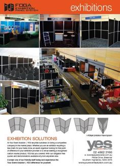 Foga Panels - Exhibition - Your Event Solution | YES