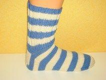 Handgestrickte  Socken Gr. 45/46