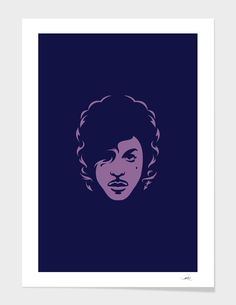 Discover «Prince», Exclusive Edition Fine Art Print by Bruno Morphet - From $25…