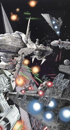 Star Wars by Hong Jacga on Line Webtoons #Comics #Webcomics #Webtoons #StarWars