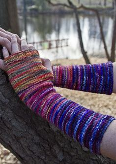 Freemans Alley Armwarmers in KPPPM by Ivete Tecedor via Chiagu
