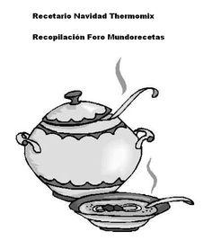 Libro recopilación recetas navidad con Thermomix Foro Mundorecetas