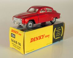 Currently at our Catawiki auctions: Dinky Toys - Scale 1/43 - Saab 96 No.156