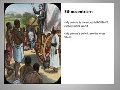 A simple definition of ethnocentrism. The western world has often tried to force their opinions and ways of life on other cultures. About 60% of the UN is funded by Europe and the United States. So, with over the majority of the contributions coming from Western civilization their culture would dominate the law.