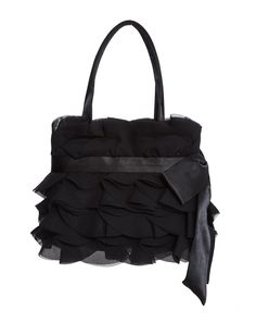 COAST Black Ruffle Handbag  MRRP: £53.00 GBP - AVI Price: £32.00 GBP