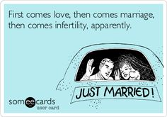 Infertility, IUI, Clomid, hMG injections, IUI with injectables, TTC, Infertility sisters, infertility ecard, infertility humor, Clomid