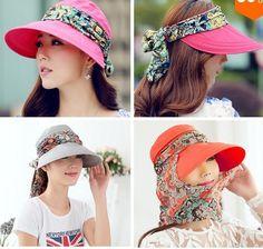 Encontrar Más Sombreros de Sun Información acerca de 2015 recién llegado de protección sombreros de verano para mujeres plegable Anti ultravioleta del sombrero del sol de ancho de ala ajustable mujeres sombreros de verano, alta calidad Sombreros de Sun de Nancy Fashion Life Co.,Ltd en Aliexpress.com