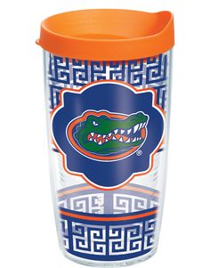Florida Gators fans have another great way to show off their school colors with this new geometric Tervis design!