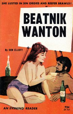 Beatnik Wanton by Don Elliott,1964   (wonder if this is where they got the idea for Midge on Mad Men ?!  ;o)