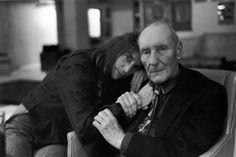 Patti Smith and William S Burroughs.