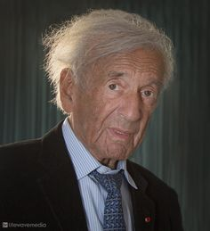 "Elie Wiesel, KBE (1928-July 2, 2016) was a Romanian-born Jewish writer, professor, political activist, Holocaust survivor, and Nobel Laureate. He was the author of 57 books, written mostly in French and English, including ""Night"", a work based on his experiences as a prisoner in the Auschwitz, Buna, and Buchenwald concentration camps."
