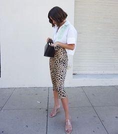 Summer Vintage High Waist Skirt Leopard Print Skirts Punk Rock Boho Streetwear Jupe Femme Size S Color Leopard Jupe Midi Leopard, Leopard Print Skirt, Leopard Skirt Outfit, Streetwear, Style Punk Rock, Girl Makeover, Fashion Makeover, French Outfit, Satin Midi Skirt