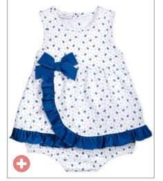 Baby Girl Clothes at Macy's come in a variety of styles and sizes. Shop Baby Girl Clothing at Macy's and find newborn girl clothes, toddler girl clothes, baby dresses and more. Baby Girl Frocks, Frocks For Girls, Little Girl Dresses, Baby Dresses, Baby Girl Dress Design, Girls Frock Design, Toddler Dress, Toddler Outfits, Kids Outfits
