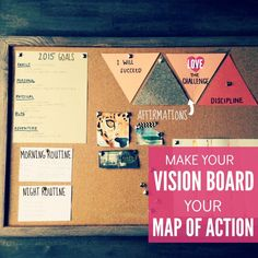 Create A Vision Board. The Fit Dish Link-UP