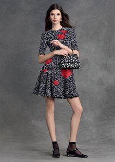 dolce and gabbana winter 2016 woman collection 69 Dolce & Gabbana, Style Work, Winter Typ, Fashion Week 2015, Runway Fashion, Womens Fashion, Armani Prive, Elegant Outfit, The Dress